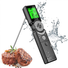 Thermomètre à viande numérique instantané intelligent avec rétroéclairage tricolore