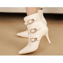 Botas de mujer de tacón alto de diseño nuevo (Y 40)