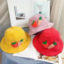 Cheap вельвет материал детская зимняя шапка