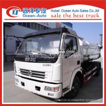 DFAC caminhão de lixo hidráulico, auto carregamento caminhão de lixo à venda