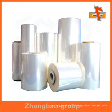 China manufacturer pvc plastic film flexible packing thermoshrinking film soft pvc film