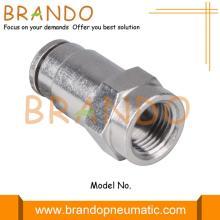 Raccord de tuyau pneumatique en laiton droit femelle 1/8 '' 1/4 ''