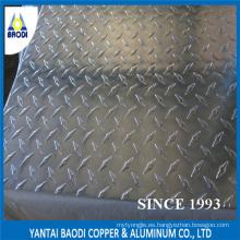 Una barra de diamante placa de control de aluminio
