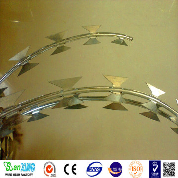 Wire Barbed Razor Concertina Dari Anping