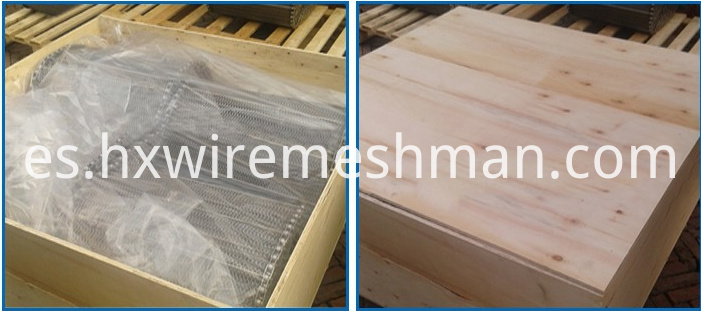 packing of wire mesh belt