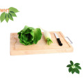 Wood Cutting Boards Bread & Fruit Chopping Board with Metal Handle