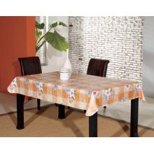 Toalha de mesa impressa de PVC com apoio não tecido (TJ0013A)
