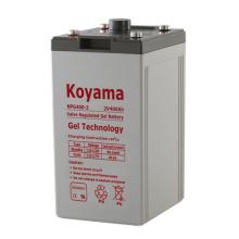 Batería fija 2V del gel -2V400AH