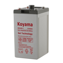 Batterie de gel stationnaire 2V -2V400AH