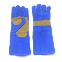 16 Inch Cow Split Leather Industrial Safety Working Welding Gloves