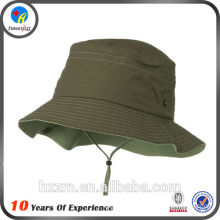 men bucket hat with string