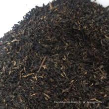 Partículas de té negro de Yunnan