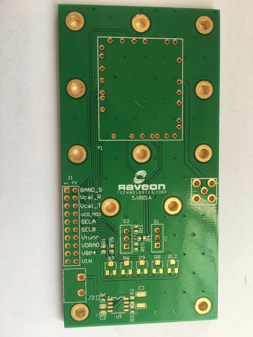 PCB 2 couches ENIG 3.2mm