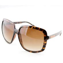 Mode Unisex Elegante Sonnenbrille mit großen quadratischen Linsen Rahmen (14196)