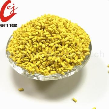 Yellow Masterbatch Granules ABS PC PMMA