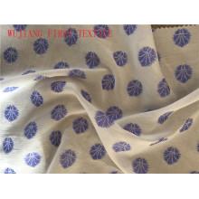 Algodón de seda de algodón Jacquardfabric