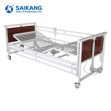SK011-3 Multi-Function Electric Steel Folding Clinic Hospital Bed