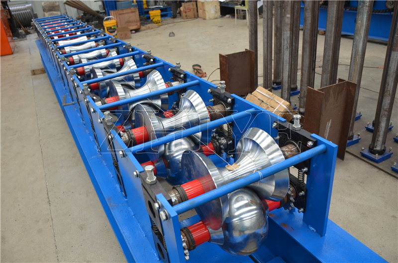Steel Ridge Cap Roll Forming Machines