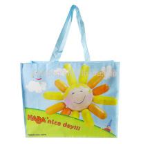 Alibaba large capacity promotional foldable shopping bags wholesale