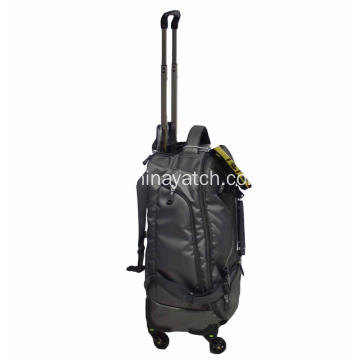 Deluxe Expandable Trolley Wheeled Backpack