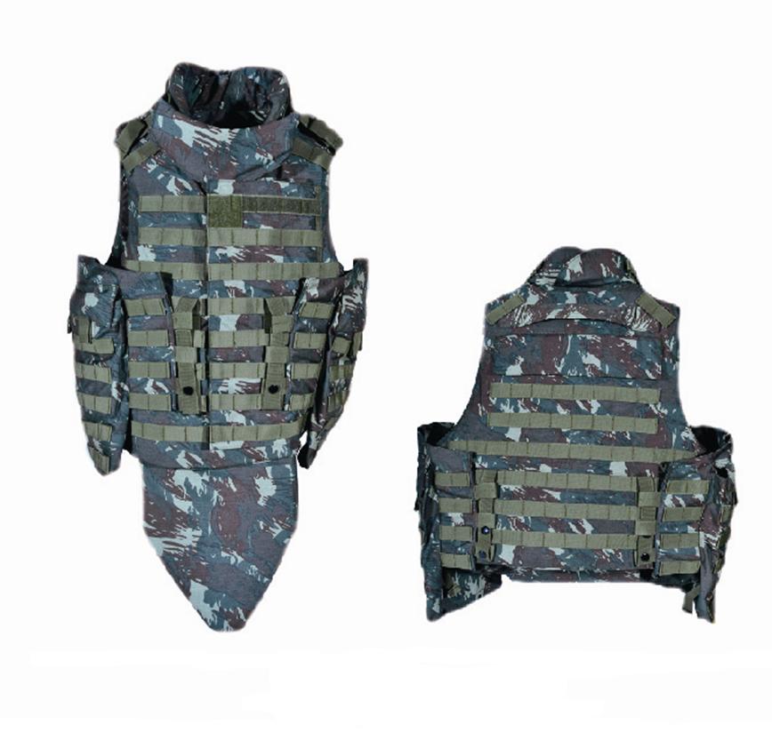เสื้อกั๊ก Bulletproof นุ่มระบบป้องกัน