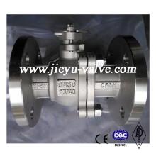 Stainless Steel CF8m Pn25/40 Ball Valve
