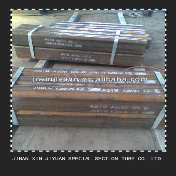200 * 200MM Struktur MS Rectangular Steel Pipe
