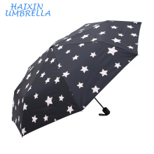 Merchandising Products Promotion Customized Gift Item 3 Fold Windproof Magic Multi Color Changing Umbrella Company in China
