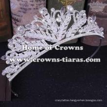 Wholesale Retro Bridal Tiaras With Handmade Crystals