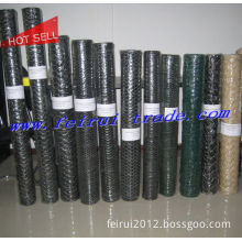 PVC Coated Dark Green or Black Chicken Wire