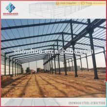 Conception Structure préfabriquée Construction en acier Structure d'acier à faible coût
