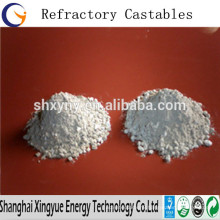 High Purity Refractory Castable Raw Material White Fused Alumina / High Alumina Castable Refractory