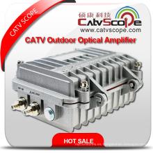 Profesional Proveedor de alto rendimiento CATV 2 vías de salida al aire libre Línea Troncal Amplificador Óptico