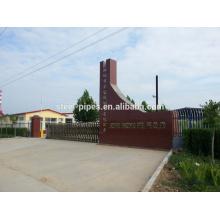 Fabricant / usine de tuyaux en acier sans soudure JBC