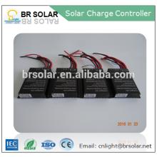 sistema de controle de iluminação inteligente pwm controlador de carga solar