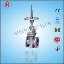 Double flat gate valve extension