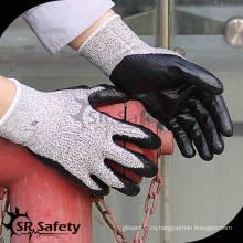 13G Устойчивая нитриловая рабочая перчатка / нитрил, покрытая перчатками