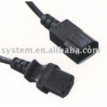 Power Cord,Power Supply Cord,IEC 13 TO IEC 14,Computer Cable