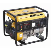 Generador de gasolina con aprobación CE de 1000W con motor de 2.6HP (WH1500-X)