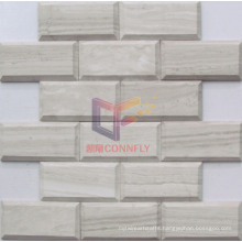 Woooden Marble Stone Mosaic (CFS1037)