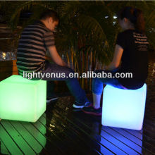 color changing long distance control waterproof led light up bar furniture stool