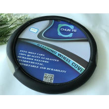 PU  leather steering wheel cover wrap