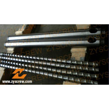 Bimetallic Screw Barrel Manufacturer PE Film Profile Pipe Extrusion Screw Barrel