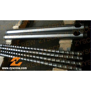 Производитель биметаллический винт ствола профиля PE пленки Штранг-прессования трубы винта баррель