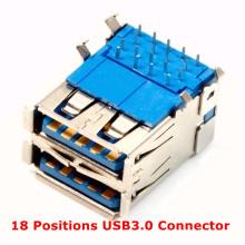 18 Positionen USB3.0 Anschluss