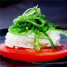 Пряная кунжутом и водорослями вакаме салат хияши вакаме Гома