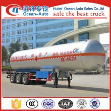 Tri-axle LPG Trailer mit C3H8 Made in China zum Verkauf