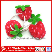 Neues Design Kinder Spielzeug Tape niedlich Plüsch Erdbeere Maßnahme