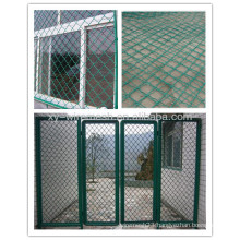 PVC coated beautiful grid wire mesh fence