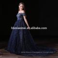 OEM ODM 2017 Dernières tendances bretelles en dentelle robes de mariée femmes paillettes formelle maxi robes de soirée